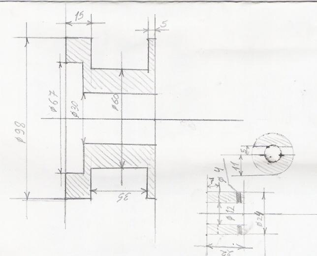 зу рассвет схема м - Уголок конструктора.